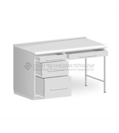 Стол однотумбовый с одним подвесным ящиком СТ03.1