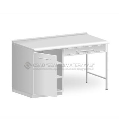 Стол однотумбовый с одним подвесным ящиком СТ01.1