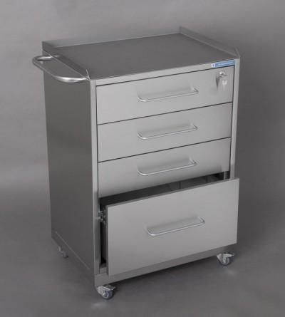 Столик анестезиолога СА-2П (4 ящика)