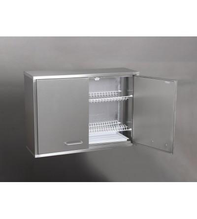 Полка навесная ПН2 (для посуды, нерж)