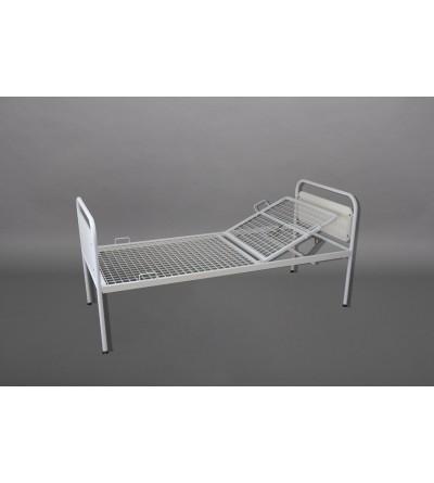 Кровать больничная металлическая двухсекционная КБМ-2П