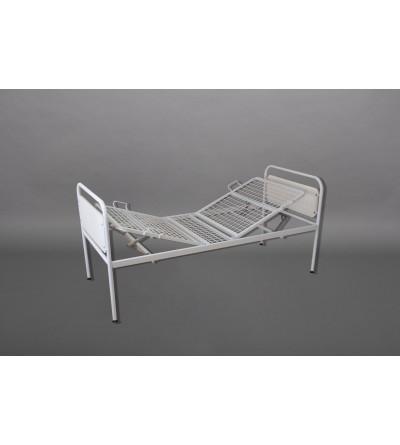 Кровать больничная металлическая трехсекционная КБМ-3П